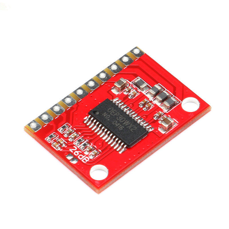 5pcs/lot OEP30WX2 Dual Channel Audio Digital Power Amplifier Board High Power Module D Class 12V LCD TV 10W15W