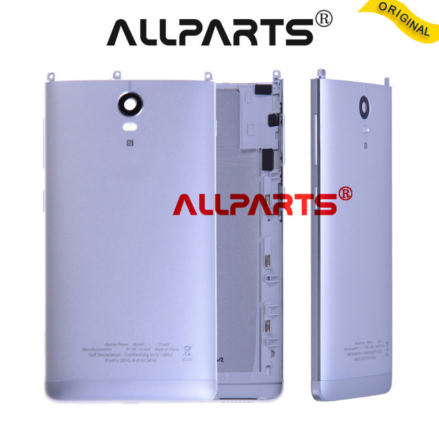 ALLPARTS New Metal Rear Housing Door For  Lenovo Vibe P1C58 Back Battery Cover Case with Camera Lens  P1C72 P1A42 Assembly