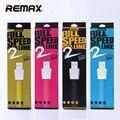 Оригинал Remax Плоский TPE 8 Pin USB Зарядный Кабель 2.1A Быстрая зарядка Синхронизации Данных Wire Шнур Для iphone 5/6/6 s Plus Для iPad iOS9