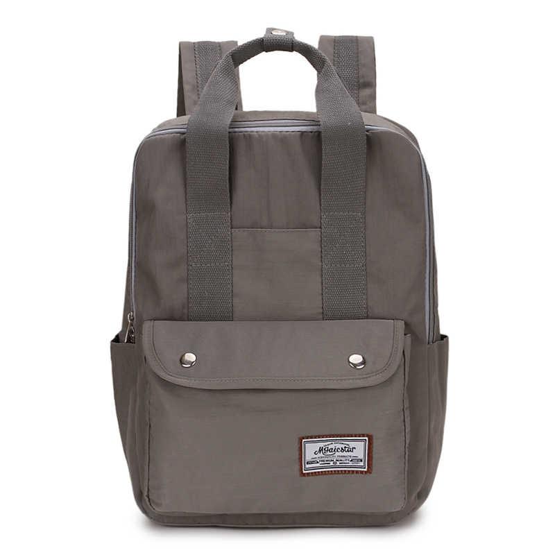 Модный женский рюкзак для подростков, японское кольцо, женская сумка на плечо, школьный рюкзак, женский рюкзак Mochila 2019