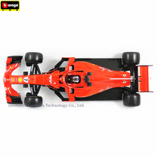 Bburago 1:18 Ferrari F1 NO7 manufacturer authorized simulation alloy car model crafts decoration collection toy tools цены онлайн