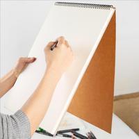 [4y4a] 1 pçs a3 a4 a5 esboço a linha de arte profissional lápis desenho pintura em aquarela este esboço pintura livro