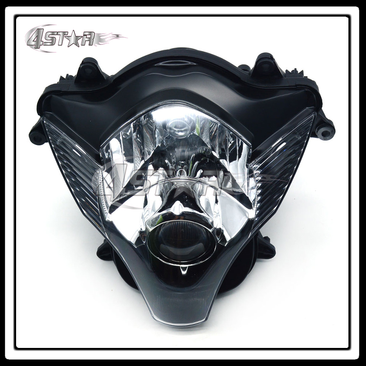 Motorcycle Front Headlights Headlamps Head Lights Lamps Assembly For GSXR GSXR600 GSXR750 2006 2007 Supermoto Free Shipping