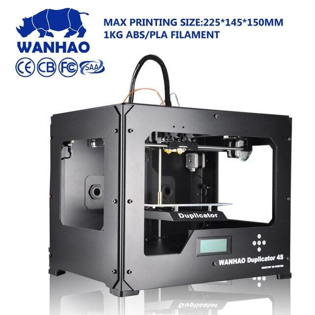 Wanhao D4S Desktop 3 Dprinter, Hohe Qualität Metallrahmen Reprap Kit Mit  Dual Extruder Mit 2