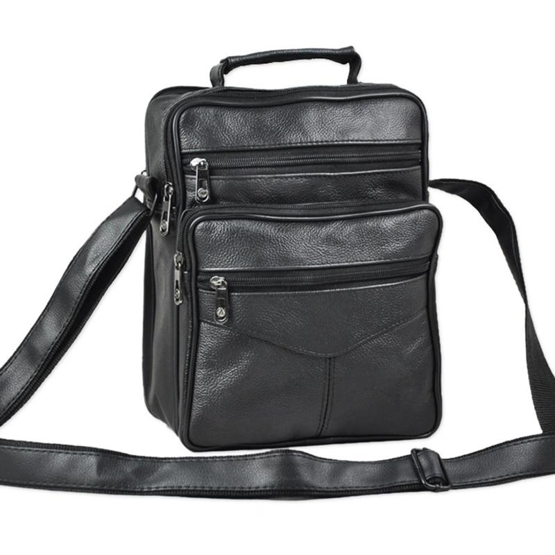 Модные Для мужчин сумка Пояса из натуральной кожи hangbags дорожные сумки Для мужчин Кожаная Сумка Деловая портфель для Для мужчин BOLSOS Hombre ...