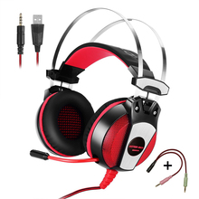Stereo Gaming Headset For PS4 Headset Xbox One Bass Surround Gaming Headphone With Microphone For Computer PC Laptop Phone Mac binmer futural digital g800 stereo surround gaming headset headband micheadphone high quality f25