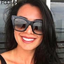 FOOSCK Women Glasses Fashion Ladies Sunglasses New Brand Des