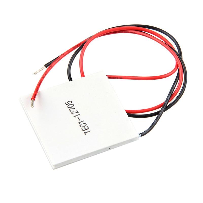 все цены на TEC1-12705 40x40mm Heatsink Thermoelectric Cooler Peltier Plate Elemente Module онлайн