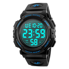 цена Time Secret men's fashion luminous waterproof watch multi-function digital wristwatches outdoor sports male student watch онлайн в 2017 году