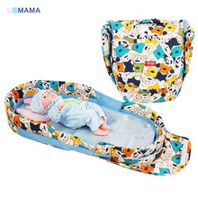 Newborn baby product bed folding thickening cradle portable crib travel bag