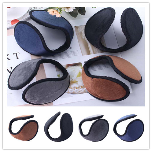 Hot Sale Unisex Earmuff Ear Warmer Apparel Accessories Earmuff Winter Ear Muff Wrap Band Earlap Gift 4colors