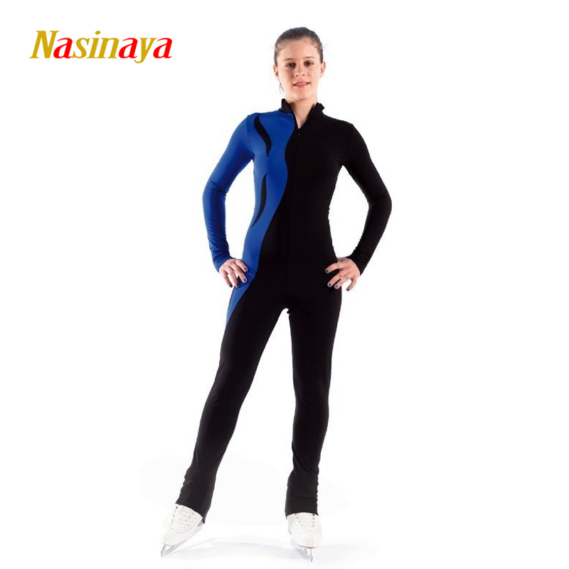 Customized Costume Ice Skating Figure Skating Leotard Gymnastic Skater Adult Child Girl Training Tight Elastic vik max adult kids dark blue leather figure skate shoes with aluminium alloy frame and stainless steel ice blade