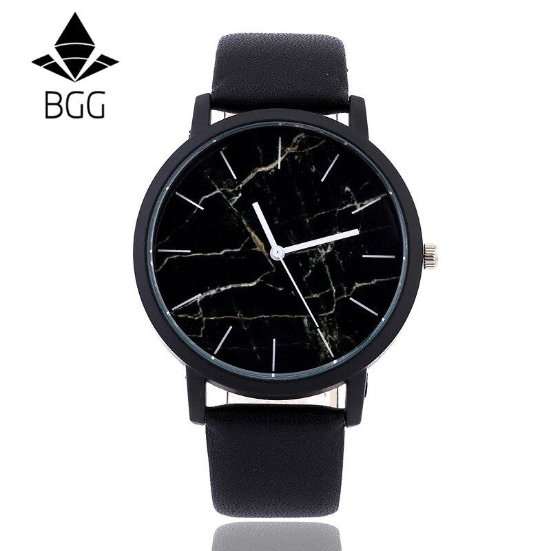 British Style Marble Watches Watches 2016 Hot Fashion Marbling Stripe Creative Quartz