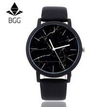 British style Marble Watches 2016 Hot Fashion Marbling Stripe Creative Quartz Watch Men Women Wristwatches Genuine