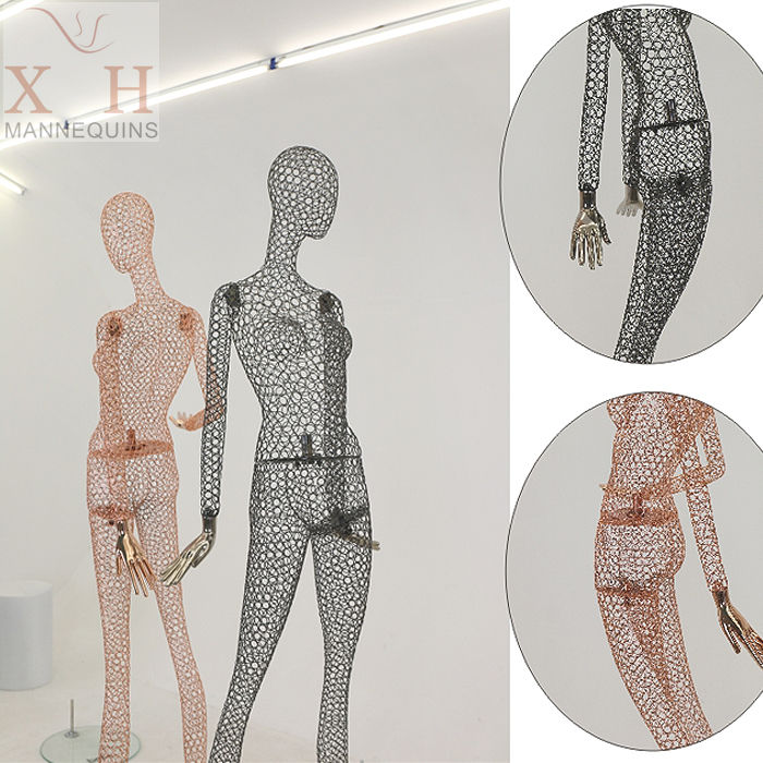 Fashion Style Metal Wire Mannequin-in Mannequins from Home ...