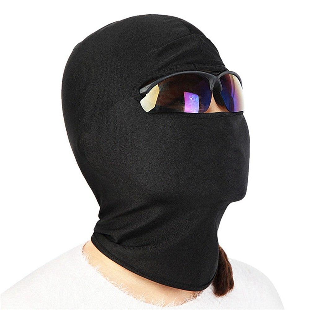Full face mask neck warmer hood balaclava outdoor winter sports hats - Wosawe Outdoor Sports Bicycle Cycling Motorcycle Masks Ski Hood Hat Veil Balaclava Uv Full Face Mask