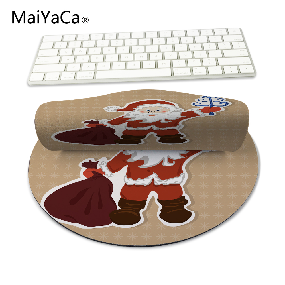 Hot Sale Christmas Mouse Pad Cute Cartoon Santa Claus Table Pad Christmas Decorations From Snowman To Party At Home Christmas