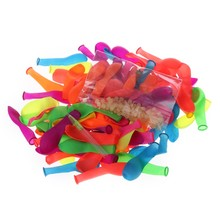 111Pcs/Set Rubbers Balloons For Water Balloons Bunch Water Bombs Beach Toys Kids Fun Toy(China)