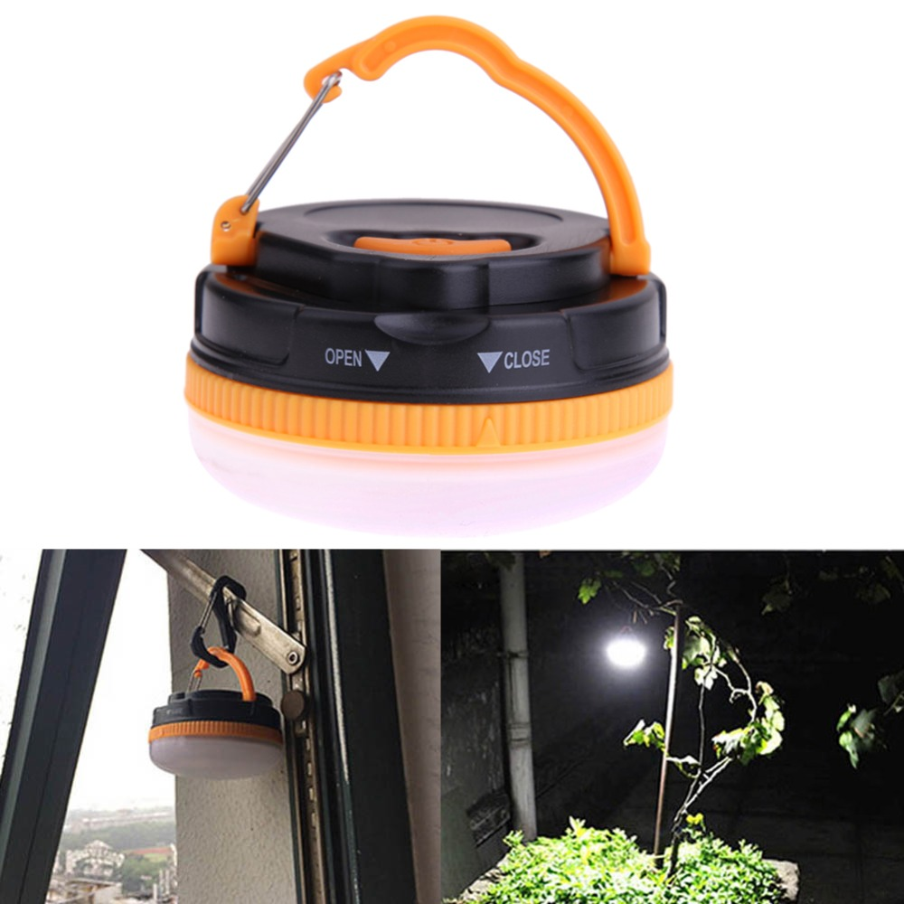 5-mode 150 Lumens Outdoor Indoor 3 LED Portable Magnetic Hiking Camping Tent Lantern Light Lamp With handle White Light