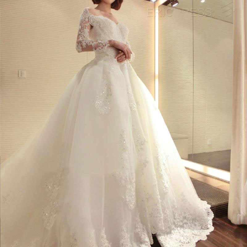 Popular nice wedding gown buy cheap nice wedding gown lots for Where to buy a nice dress for a wedding