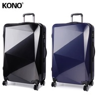KONO 2PCS 28 Inch Luggage Suitcase Hard Shell Check In Travel Carry On Hand Trolley Case Bag 4 Wheel Spinner Lightweight K6671L
