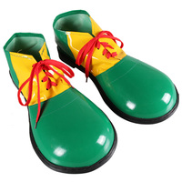 Cosplay character play clown boots dress up accessories Halloween dress up props make up party party props clown shoes