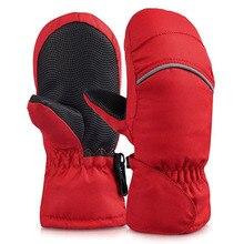 Winter Mittens for Baby Waterproof Mittens Thickening Warm Winter Gloves Boys Girls Children Kids Mittens Snowboard Gloves