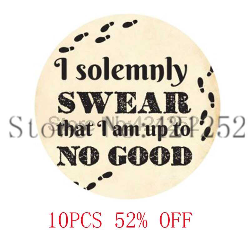 I Solemnly Swear That I Am Up To No Good,HP Necklace keyring bookmark cufflink earring