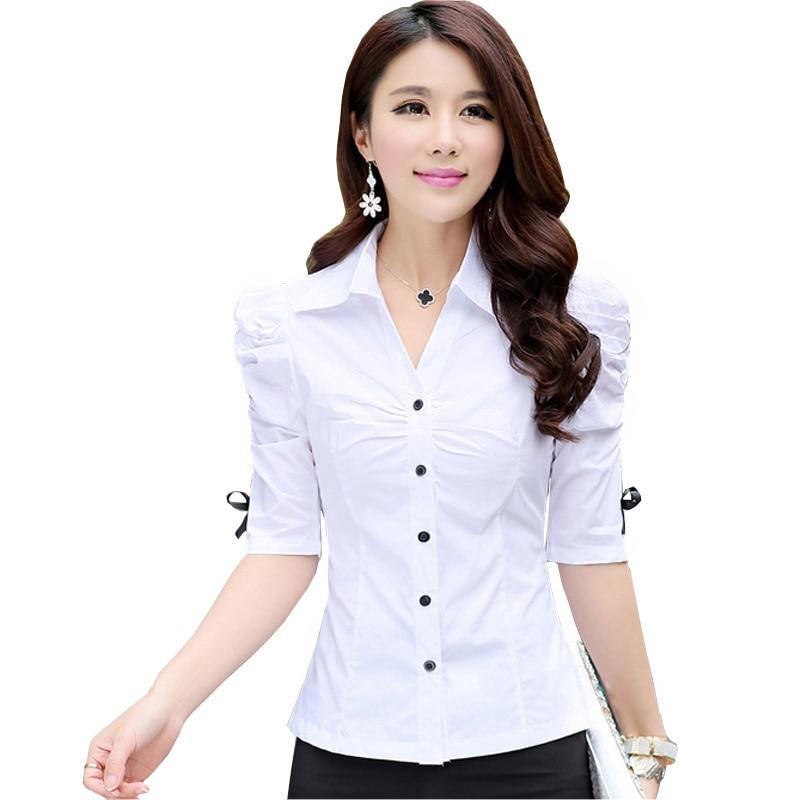 Buy Fashion Ol White Cotton Shirts Size S