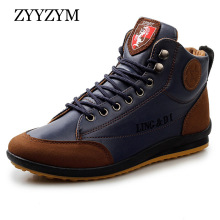 ZYYZYM Men Leather Casual Shoes Fashion Spirng Autumn Cotton Brand Shoes Man Lace Up Men Shoes Footwear Drop Shipping лампа светодиодная таблетка jazzway 493461 gx53 8w 5000k