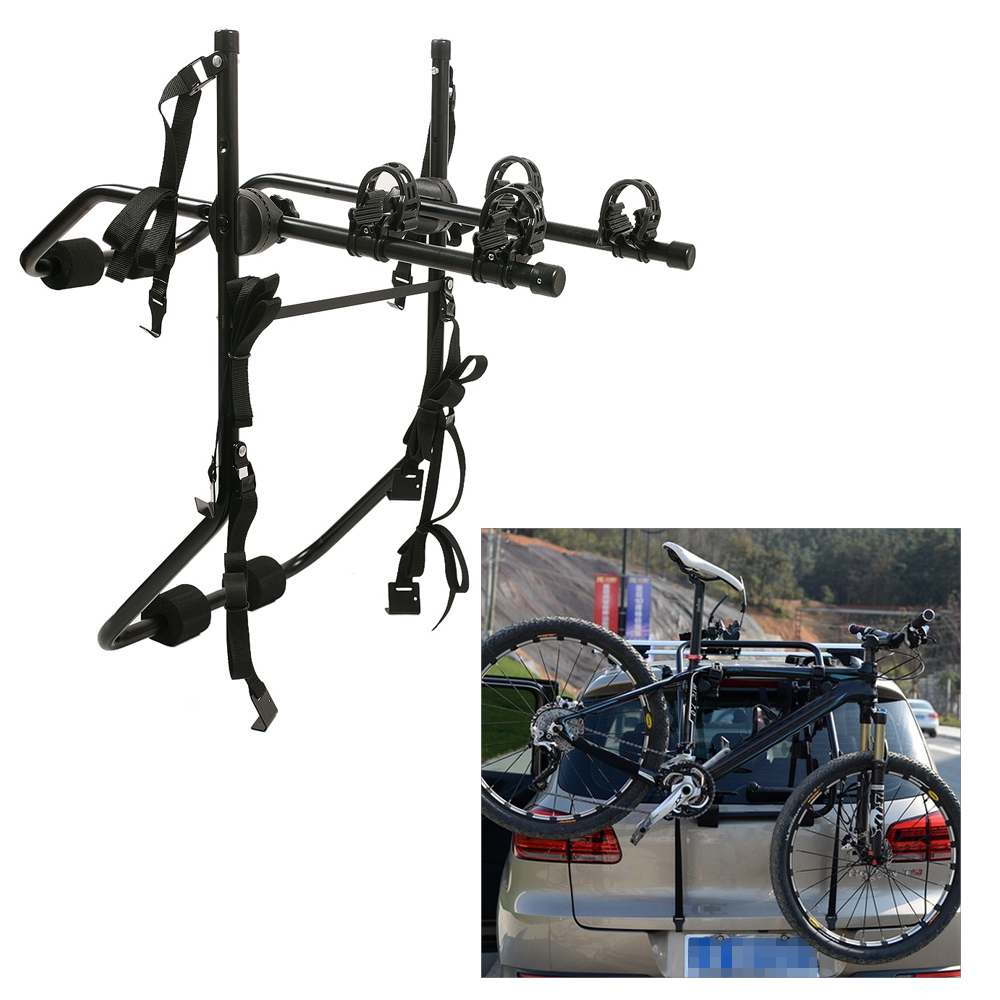 Bicycle Carrier Rack Trunk Mount Rack Universal Bike Hitch