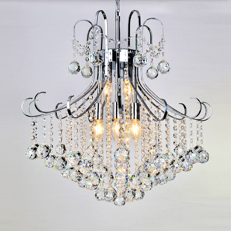 TOP Quality Mini Modern Crystal Chandelier Light Chrome ...