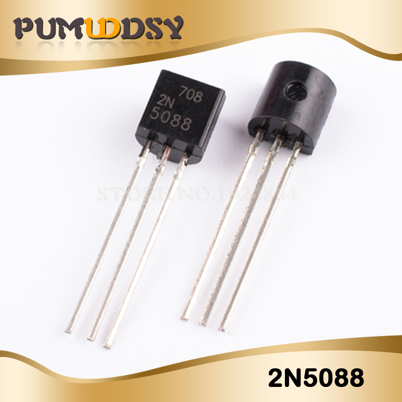 20PCS Free Shipping 2N5088 5088 TO-92 The New Quality Is Very Good Work 100% Of The IC Chip IC