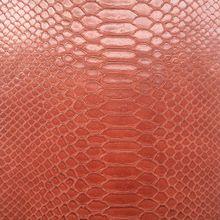 Синтетический pu засушливых змеиной кожи Кожа сырья A10011