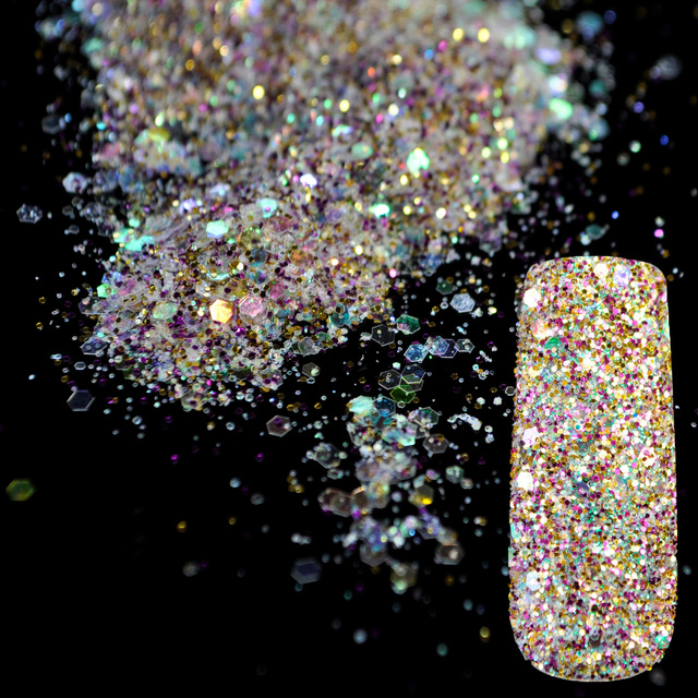 Aliexpress Buy Shining Abalone Transparents Sequins Dust Diy