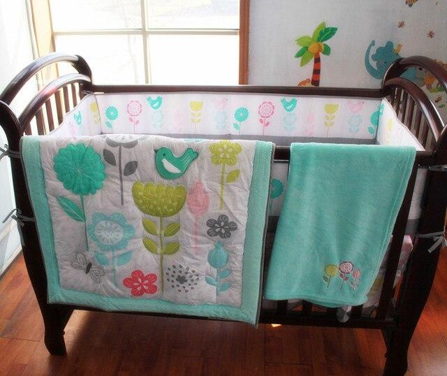 8 Stücke Krippe Infant Zimmer Kinder Baby Schlafzimmer Set