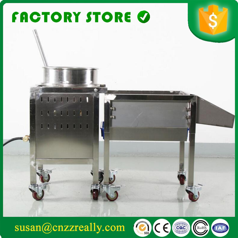 Gas Heating Caramel Industrial Popcorn Machine Popcorn Popper