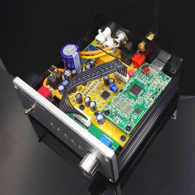 decoder AK4490 AK4118 DAC Support coaxial optical USB Bluetooth input RCA  output free shipping
