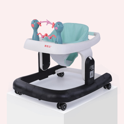 Multi-functional Baby Walker Anti-rollover Adjustable Foldable Baby Learn Walking Toddler Walker