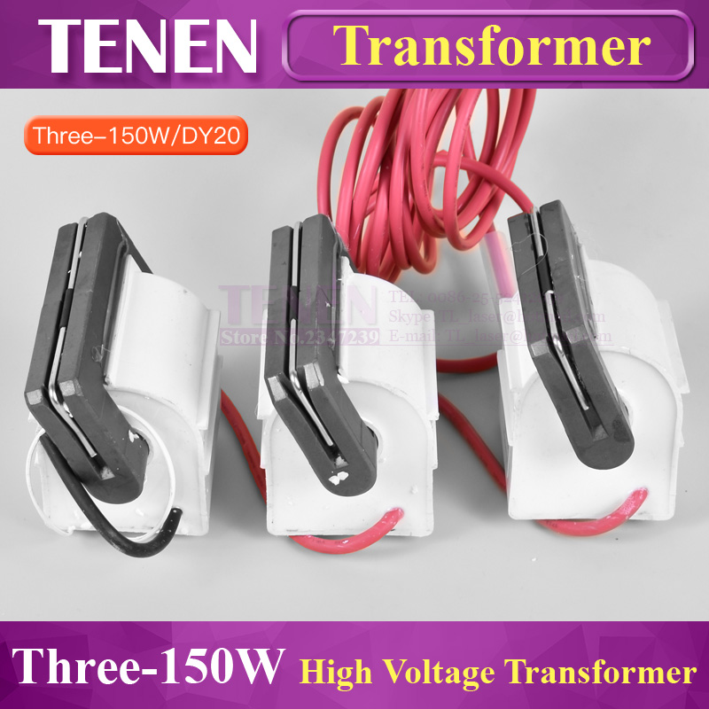3pcs lot Laser High Voltage Transformer Flyback Lgnition Coil For 130W 150W CO2 Laser Power Supply