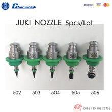 Kostenloser versand 5 teile/satz Standard JUKI Düse (502 503 504 505 506) 5 größe, SMT Düse für SMT Pick und Ort Maschine Charmhigh
