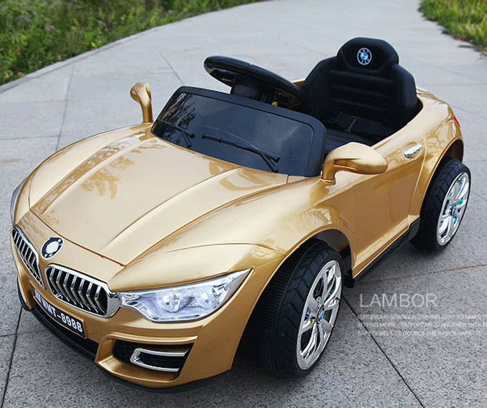 Купить с кэшбэком 6V Children's Electric Car Four-Wheel Dual-Drive Independent Swing Remote Control Toy Car Early Education Machine Can Take Kids