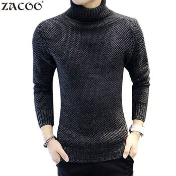 Winter Thick Warm Cashmere Sweater Men