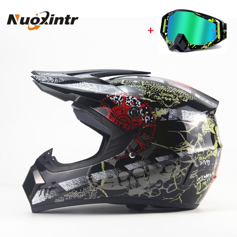 Nuoxintr Motorcycle Adult motocross Off Road Helmet ATV KTM Dirt bike Downhill MTB DH Racing helmet Cross Helmet Capacetes