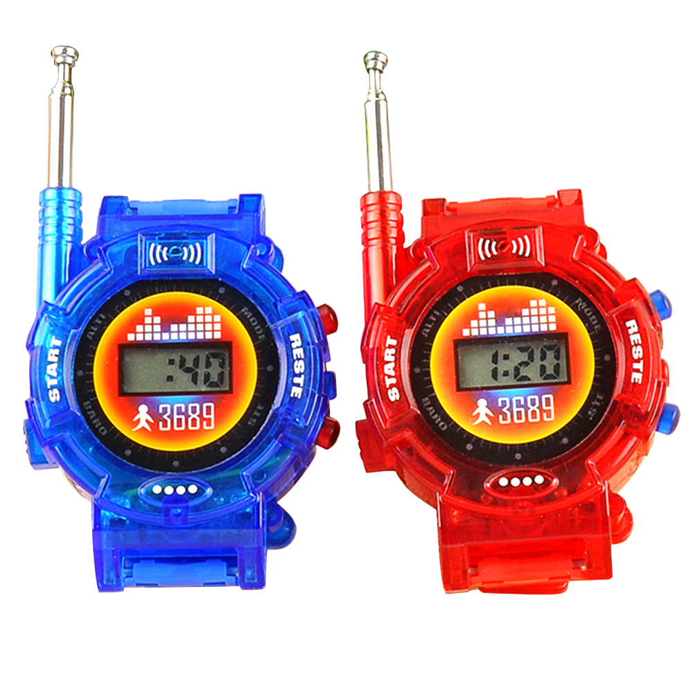 Kids Toy Watch Walkie-talkie Electronic Products Mini Seven-in-one Interactive Exchange Outdoor Toys Birthday Gift 660187