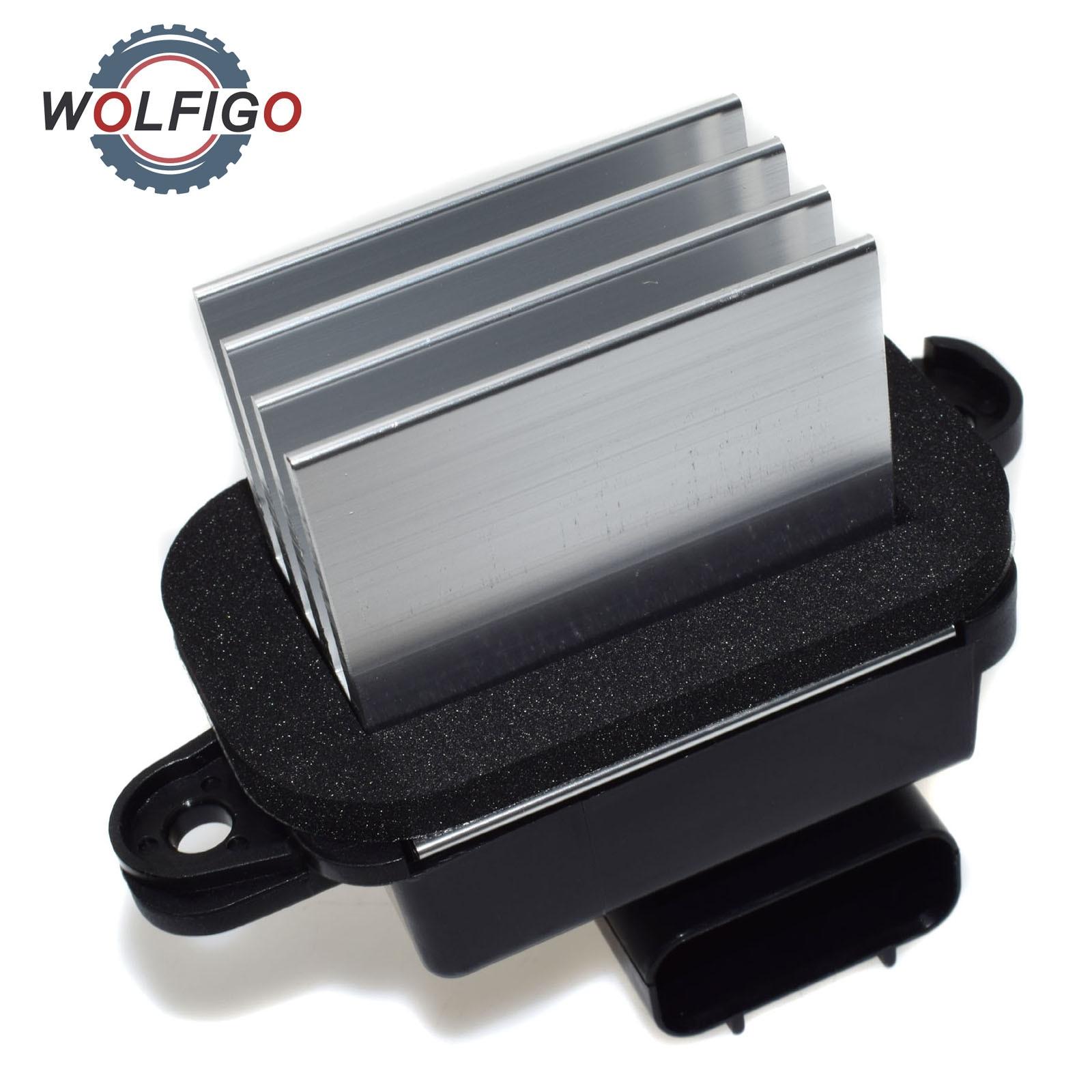 HVAC Blower Motor Regulator Resistor 27151ZT00A 271515Z000 27151ZM70A fit for 2004-2009 Nissan