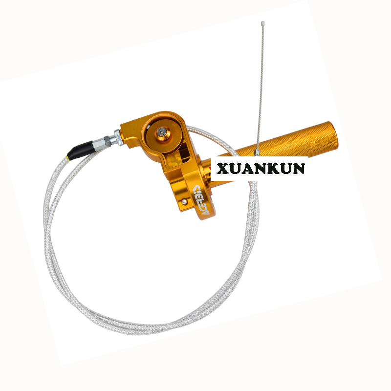 XUANKUN CQR 250 Off-Road Motorcycle CNC View Turn To The Big Oil Throttle Line the road to hell cd