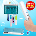 Top UV-C Sanitizer Sterilizer Kit  Zero Bacteria Smart Cleaning Tools Large Capacity + Portable Sanitizing Wand + Travel Holder