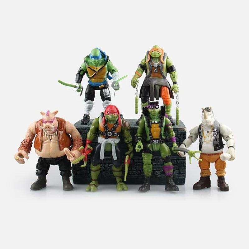2016 New NECA Toy Teenage Mutant Ninja Turtles <font><b>hasbroeINGlys</b></font> <font><b>Action</b></font> <font><b>Figure</b></font> TMNT Model Toys For Boys Juguetes Gift Brinquedos