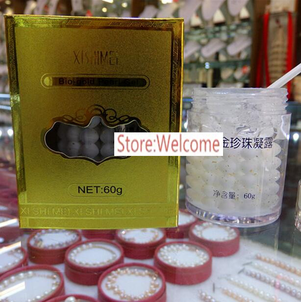 Sell Crazy! XISHIMEI New Bio-gold Pearl Gel Facial Pearl Day Cream 100% Original Export Collection 60g/PCS A1D4